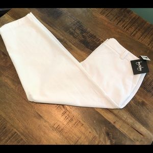 by & by Pants - NWT White cropped pants